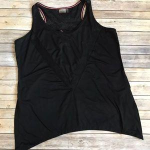 Nanette Lepore Black Workout Yoga Tank Top